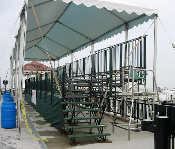 side-view-of-covered-bleacher