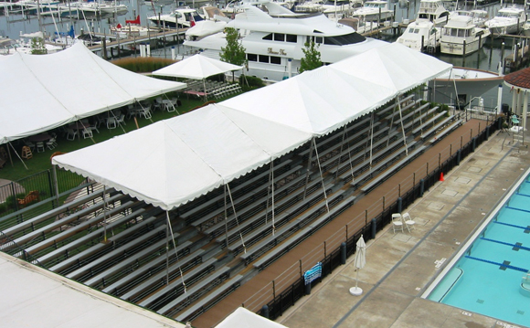 top-view-of-covered-bleacher