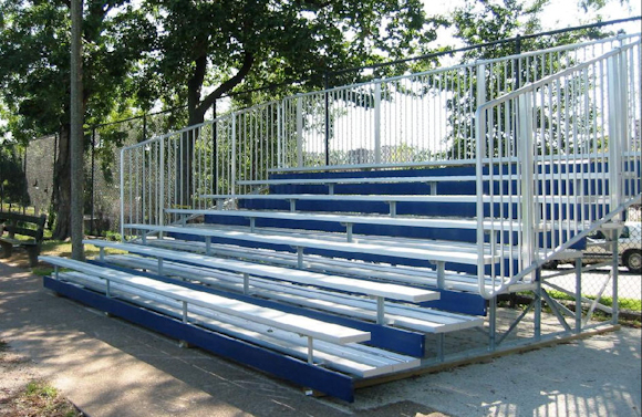 7-row-bleacher-with-colored-risers