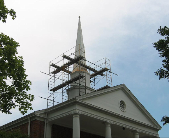 scaffold-for-steeple